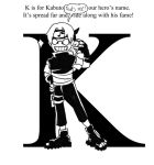 ABC's with Kabuto: K by Yakushi--Kabuto