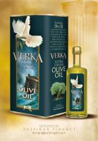 Verka Oliveoil Packaging by byZED
