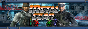 Metal Gear Solid Series Banner by MegaMac
