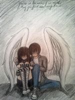 My Guardian Angel by Nightmare-Kitten