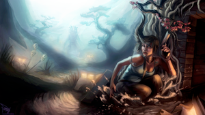 Tomb Raider by tiamat
