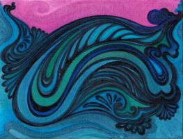 sea-water-wave-evening by amin-anim