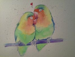 Lovebirds by xXxParabolaxXx