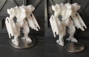 Tyrant 30 and 50mm 3D Prints! by MikeTehFox