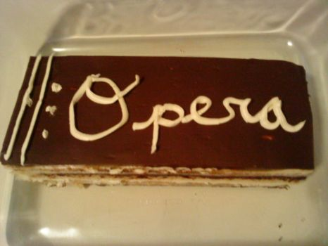 Opera Cake - The Come From Behind Victory by auralie