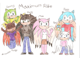 Maximum Ride Hedgified by ninacat309