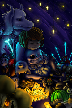 Undertale Dream by BelieveTheHorror