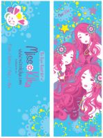 Kika Promo Bookmark by Blush-Art