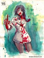 zombie nurse 3 by FASSLAYER