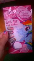 MLP nail art set by tmntlei