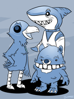 Nedroid Tribute by Bummerdude