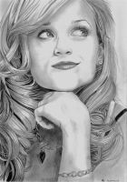 Reese Witherspoon by Ondjage
