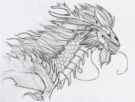 Qilin Death God Appears by TheSolitarySandpiper