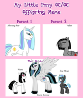 MLP Offspring Meme THE ONLY INEVITABLE OUTCOME by The-Clockwork-Crow