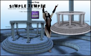 Simple Temple by inception8-Resource