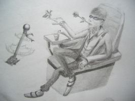 Lazy man by Graphite88