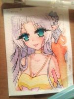 ACEO #1 - Mirana [for Aikolein] by Chierue