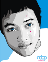 Me in Vector Blue and Gray by ndop