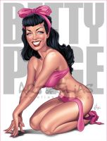 Betty Page by Elias-Chatzoudis