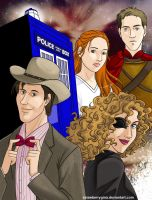 Doctor Who - Family by strawberrygina