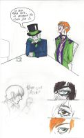 Colored Mad Hatter Doodles by CarpalTunnelLuv