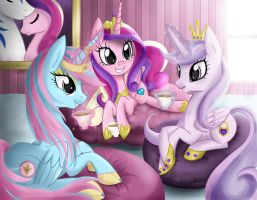 Commission: Tea Party by steffy-beff