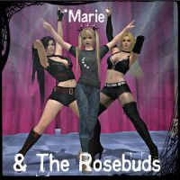 Marie and the Rosebuds by KoDraCan