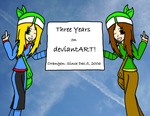 Three Years and Counting by TheLimeTangerine