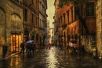 Rainy day in Siena, Italy by carterr