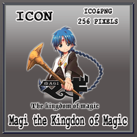 Magi The kingdom of magic_season 02_Icon by Myk-2103