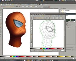Vector Spidey progress - pt5 by dphase