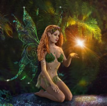 Woodland Fairy by irenejones-art