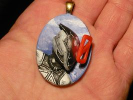 Zer0 the Assassin - 3D-Pendant by Ganjamira