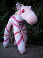 Candy the Sock Horse by DianaArtimis