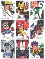 Marvel Universe Sketchcards 09 by thecheckeredman