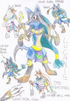 Evolution of Lucario by FUNFUNFUNPRODUCTION