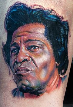 James Brown by tat2istcecil