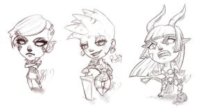 Wildstar Chibis by Neeri