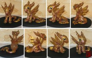 steampunk dragon by Luna-cuteXD