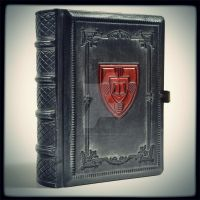 Armorial Leather Journal (6.5 x 5.2 inches) by alexlibris999