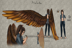 Malaika Reference by NellyMonster