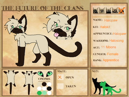Halopaw reference for FOTC by Puddlepawproductions