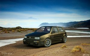 VW Golf 3 GTI 5 by cipriany