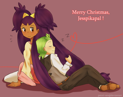Secret Santa: Wishfulshipping by Patori-san