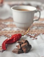 hot chocolate with chili by FiorOf