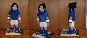 Crocheted Sasuke by DearAngelTori