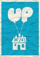 UP Minimal Poster by oneskillwonder