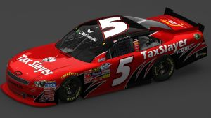 Dale Jr. 2012 Nationwide car. by TheRapacci