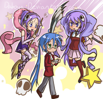 The World Konata Only Knows by Daboya