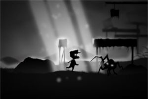 Super Mario meets Limbo by Yacumo